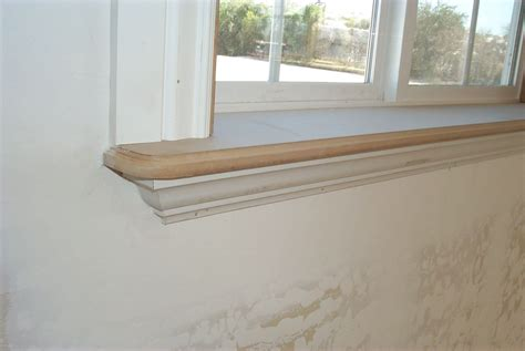 Wooden Window Sill by Ornate And Trimmed Out Windowsill Ideas Wood Windows