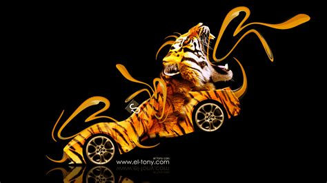 Bmw Gina Light Visions Fantasy Plastic Tiger Car 2014 El