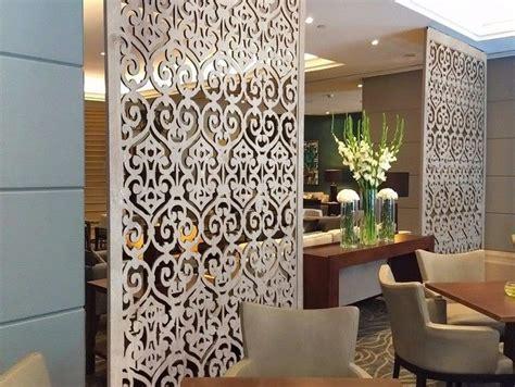 Carved Wooden Mdf Decorative Wall Panels Room Divider Art