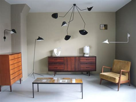 serge mouille chandelier falling arm ceiling l by serge mouille at 1stdibs