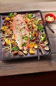 Schnelles Abendessen Für Gäste : lachs vom blech lachs blech und gem se ~ Markanthonyermac.com Haus und Dekorationen