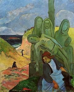 Reproduction Tableau Sur Toile : reproduction de gauguin calvaire breton ~ Dailycaller-alerts.com Idées de Décoration