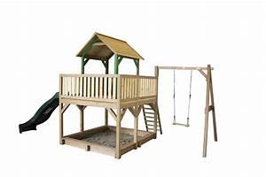 Stelzen Für Kinder : stelzen spielturm gro es hohes offenes podest rutsche sandkiste einzelschaukel vom ~ Whattoseeinmadrid.com Haus und Dekorationen