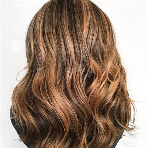 Brown With Hair by Brown Hair Color With Copper Hightlights 1 Top Ideas To