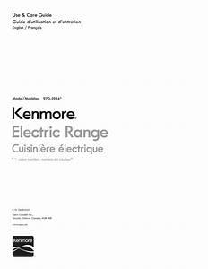Kenmore Range 970