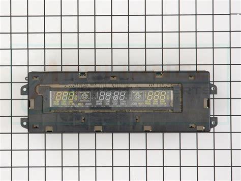 wbt ge range electronic control clock kit