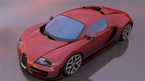 Use the z key to drift and the x key for extra nitro boost. Bugatti veyron sportvitesse 3D model   CGTrader