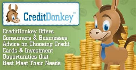 Check spelling or type a new query. CreditDonkey Offers Consumers & Businesses Advice on Choosing Credit Cards & Investment ...