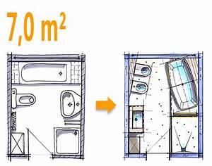 Bad Grundrisse Beispiele : badplanung beispiel 7 qm freistehend badewanne mit wc bidet kombination bad bad badewanne ~ Orissabook.com Haus und Dekorationen