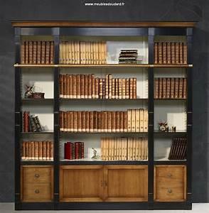 Meuble Bibliothque Bibliothque Merisier Bibliothque