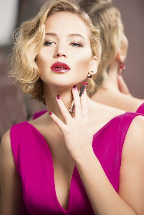 Jennifer Lawrences Dior Addict Lipstick Campaign Is