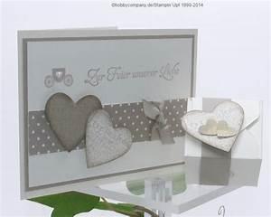 Glückwunschkarte Zur Hochzeit Selber Basteln : hochzeitskarten selbstgemacht basteln mit papier und stampin up ~ Watch28wear.com Haus und Dekorationen