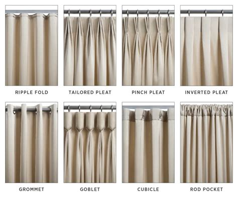 different types of drapes types of curtains and draperies decorating tips