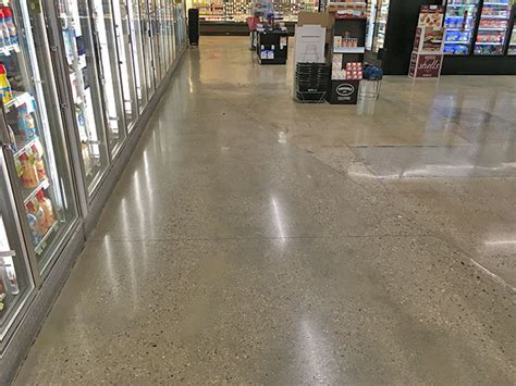 Polished Concrete   Grocery Store   Floorcare USA