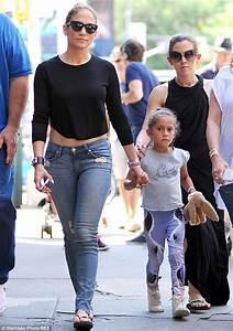 Jennifer Lopez's children Max and Emme hug as mother ...