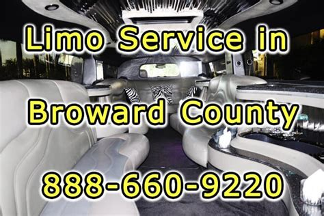 Price Limousine Service by 1 Limo Service Broward County Florida Affordable