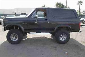 Sell Used 1986 Ford Bronco Xlt Custom  Eddie Bauer Lifted
