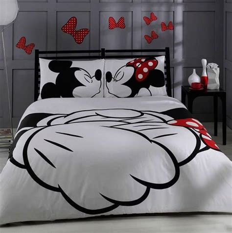 and bedding designs - Minnie And Mickey Comforter Set
