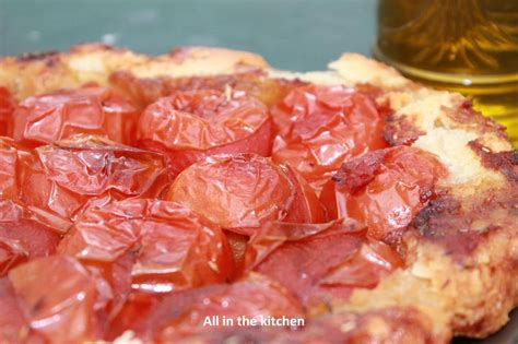 tarte tatin de tomate p 226 te sabl 233 e au parmesan all in the kitchen etc