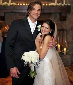 Supernatural Star Jared Padalecki and His wife Genevieve ...