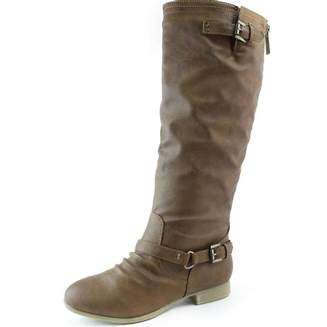 womens motorcycle riding boots with heels women mid calf knee high motorcycle riding military combat