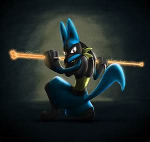 Lucario - Bone Rush by squire-boot on DeviantArt