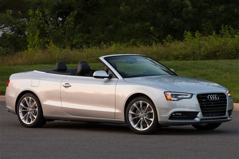 audi  convertible pricing  sale edmunds