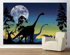 outer space wall sticker decals  boys room wall mural