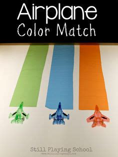 aviation toddler activities images toddler
