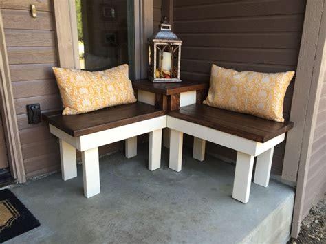 hometalk diy corner bench  built  table