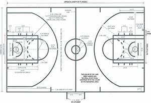 Basketball Ball Court Dimensions