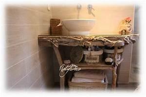 Meuble En Bois Flotté : meuble en bois flott d coration en bois flott et divers d corations ~ Preciouscoupons.com Idées de Décoration