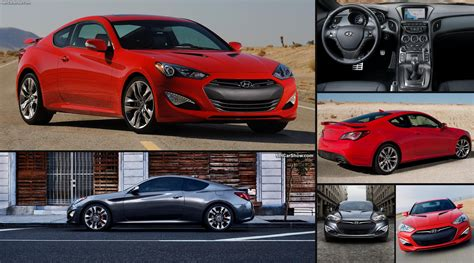 Hyundai Genesis Coupe (2013)  Pictures, Information & Specs