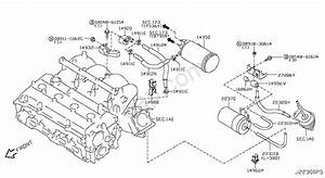 Engine Control Vacuum Piping Nissan X
