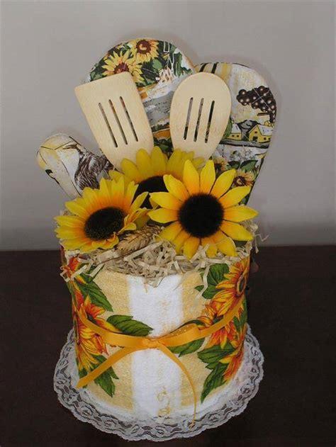 diy sunflower kitchen decor ideas