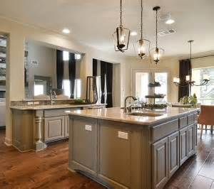 kitchen island with posts kitchen cabinet design island options burrows cabinets central builder direct custom