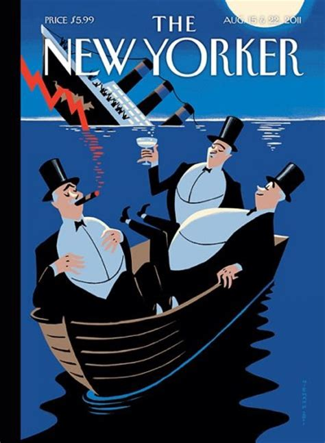 New Yorker U.S.S. Economy Cover: Smell of Titanic in the ...