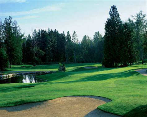 bear creek club country golf hole washington courses seattle woodinville side water