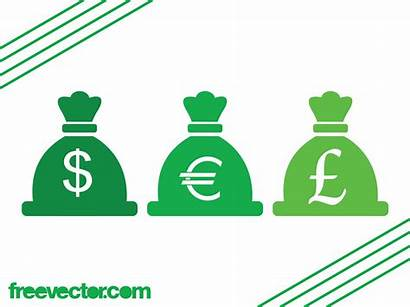 Currency Vector Icons Graphics Money Freevector Different