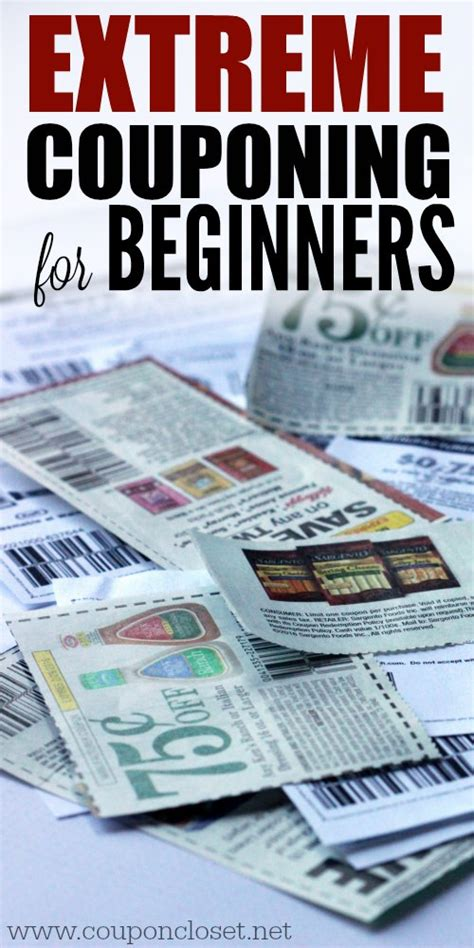 Closet Discount Code by Couponing For Beginners Coupon Closet