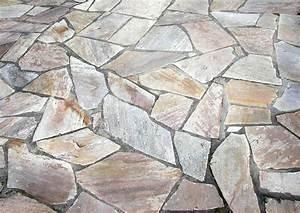 Terrassenplatten Verlegen Kosten : terrassenbelag so genannte polygonalplatten als ~ Michelbontemps.com Haus und Dekorationen