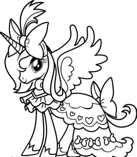 Coloring Pages Unicorn by Unicorn Coloring Pages To And Print For Free