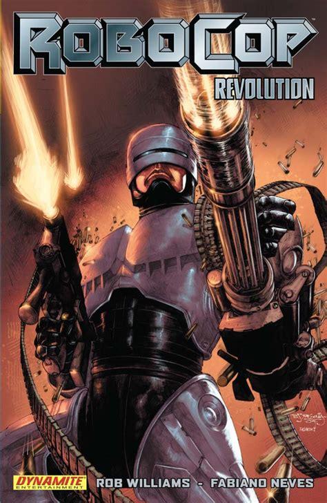 dynamite robocop tpb vol  revolution trade paperback