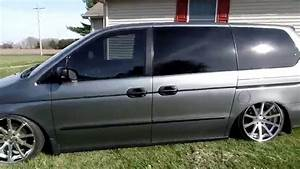 2001 Honda Odyssey Bagged On 20x10 Tsw Jerez