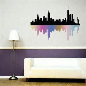 best new york skyline wall decor products on wanelo