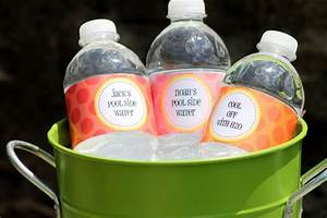 tipster tuesday waterproof water bottle labels piggy With how to make water bottle labels waterproof