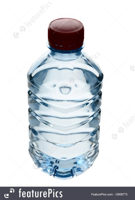 beverages purified spring water   bottle stock