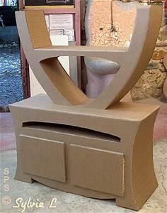 Meuble En Carton Design : d couverte des m thodes schmulb pour fabriquer un meuble en carton ~ Melissatoandfro.com Idées de Décoration
