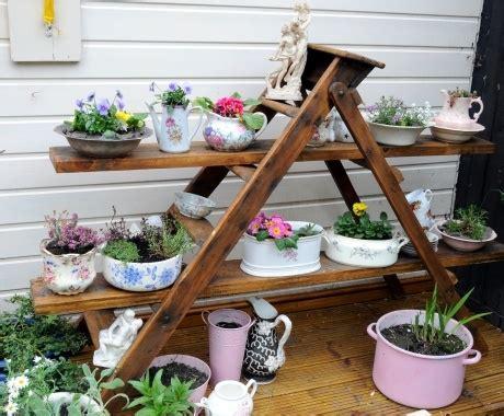 Frische Wanddekoration Mit Pflanzenwand Mit Haengenden Blumentoepfe by 88 Coole Gartendeko Inspirationen Frisch Mobel