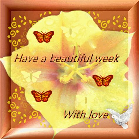 Have A Beautiful Week With Love  Days Week